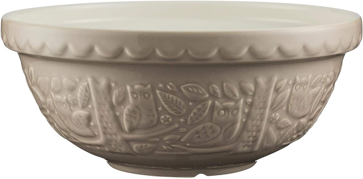 Mason Cash - In the Forest Owl Stone Mixing Bowl