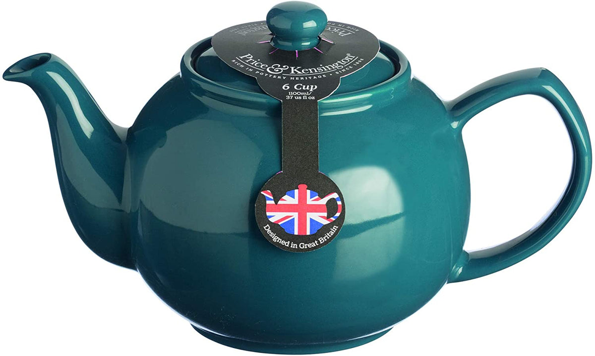 Typhoon - Price & Kensington 2-Cup Teapot, Brights Teal Blue