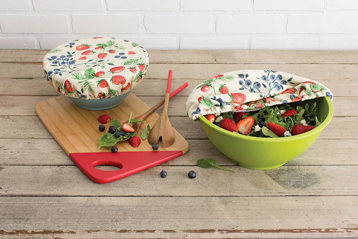 "Now Designs - Bowl Covers, ""Berry Patch"" (Set of 2)"