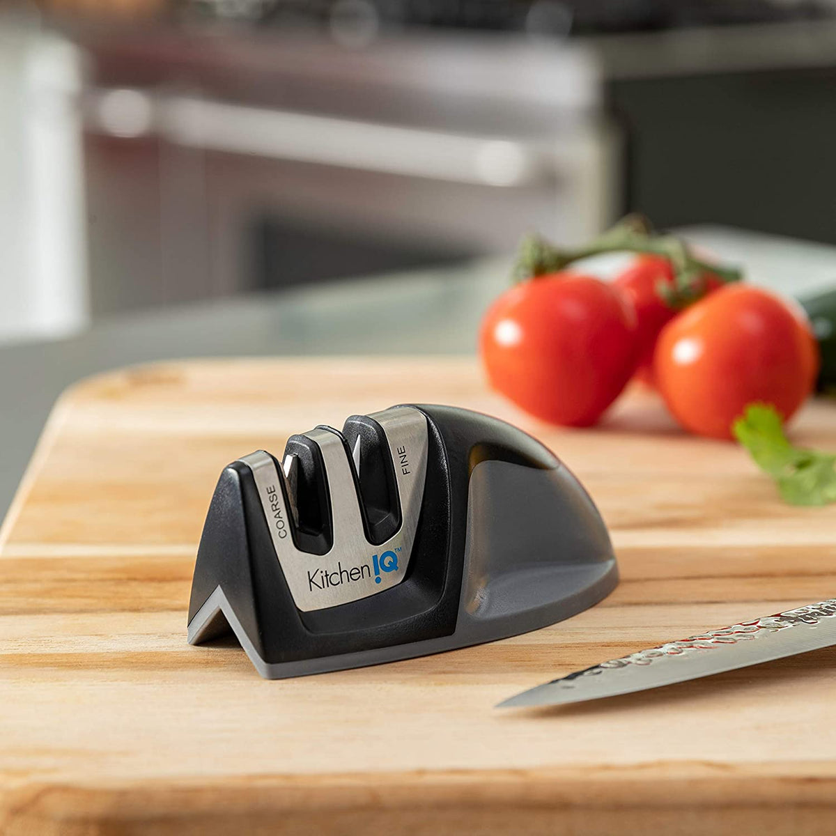 Smith's Kitchen IQ - Edge Grip 2-stage Knife Sharpener