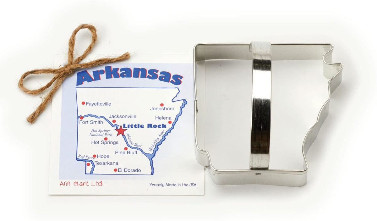 Ann Clark Cookie Cutter - Arkansas Cookie Cutter