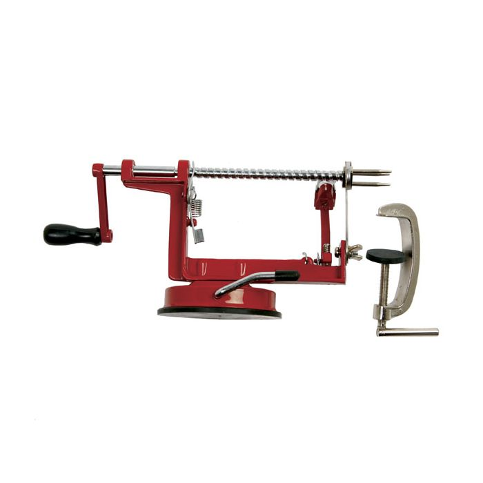 Norpro - Apple Master With Vacuum Base & Clamp, Red