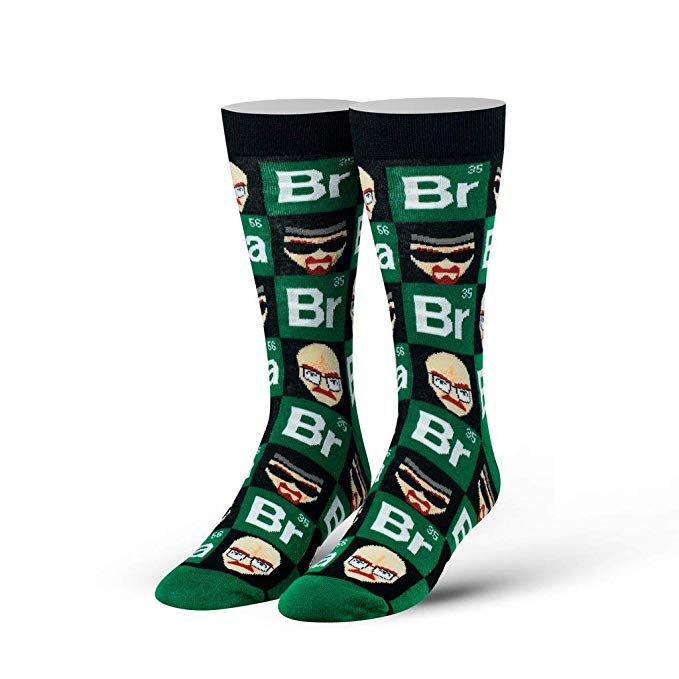 "Cool Socks - ""Breaking Bad"" Men's Straight Crew Socks"
