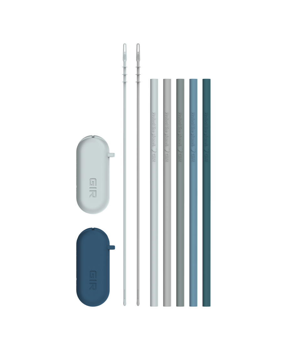 Get It Right - Traveler Silicone Straw 5-Pack