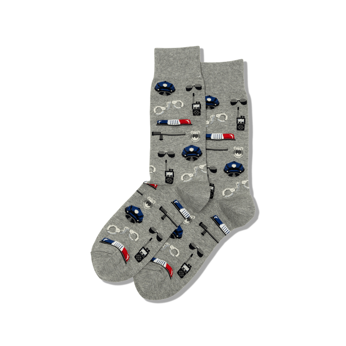 Hot Sox - Men's Police Crew Socks