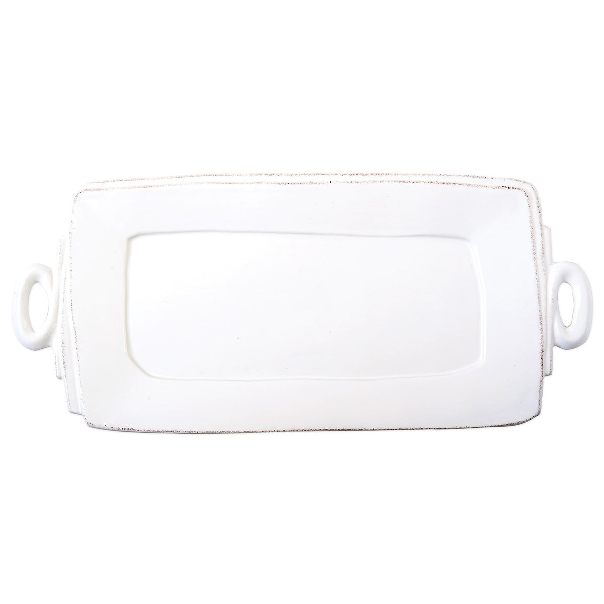 Vietri - Lastra Handled Platter, Rectangle
