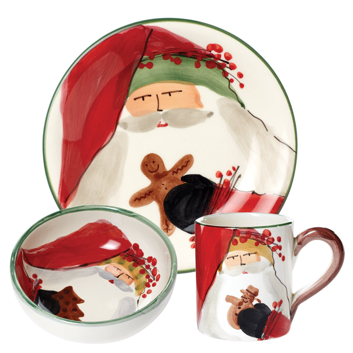 Vietri - Old St. Nick Bambini Dining Set (3 pieces)
