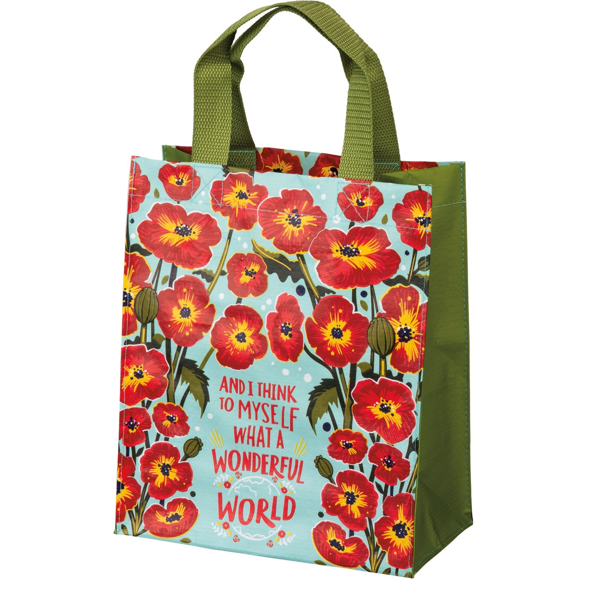 Primitives by Kathy - What A Wonderful World Daily Tote
