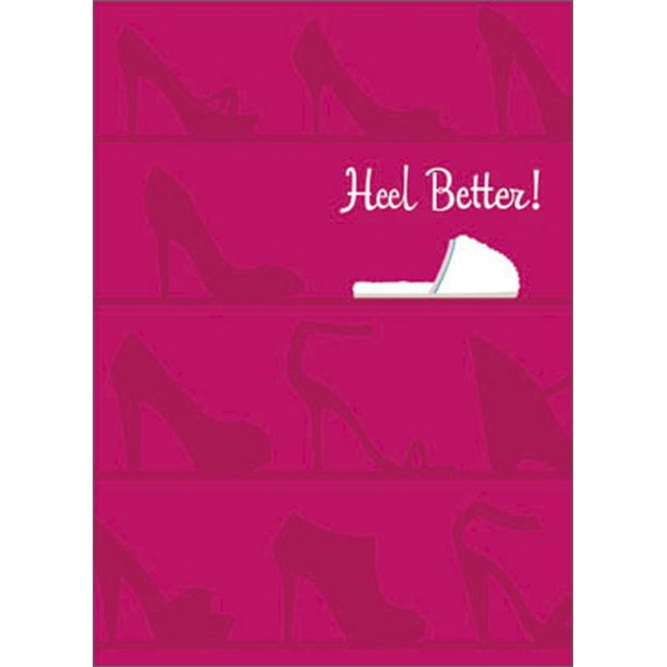 Avanti - Heel Better Get Well Card