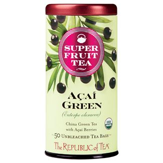 The Republic of Tea - Açaí Green Tea (50 Tea Bags)