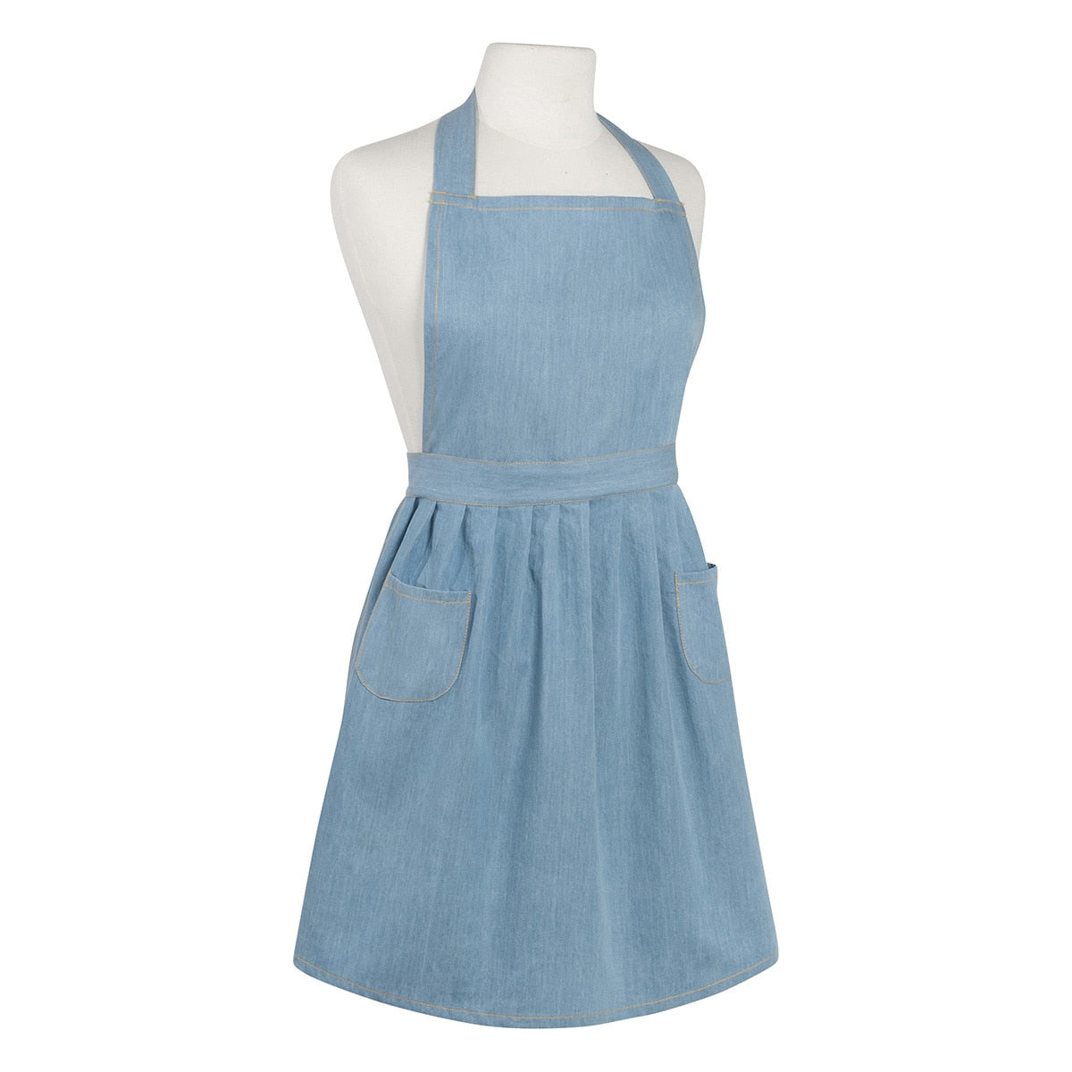 Now Designs - Classic Apron, Light Denim