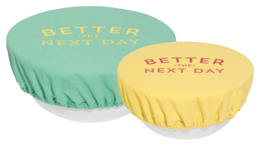 "Now Designs - Bowl Covers, ""Better the Next Day"" (Set of 2)"