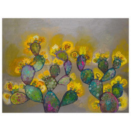 "Greenbox - ""Blooming Prickly"" Wall Art"