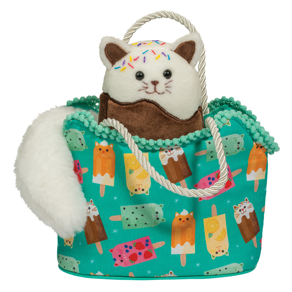 Douglas Cuddle Toys - Catsicles Sassy Sak with Catsicle