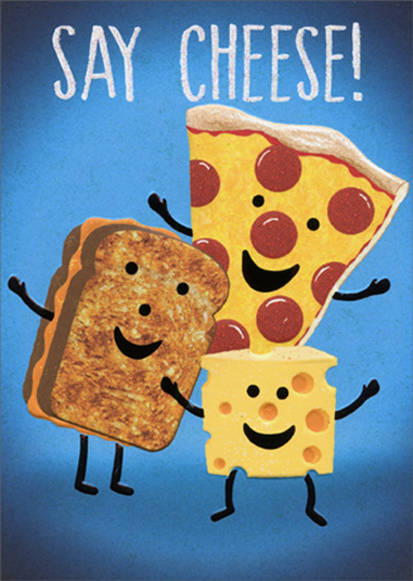 Avanti - Say Cheese! Birthday Card