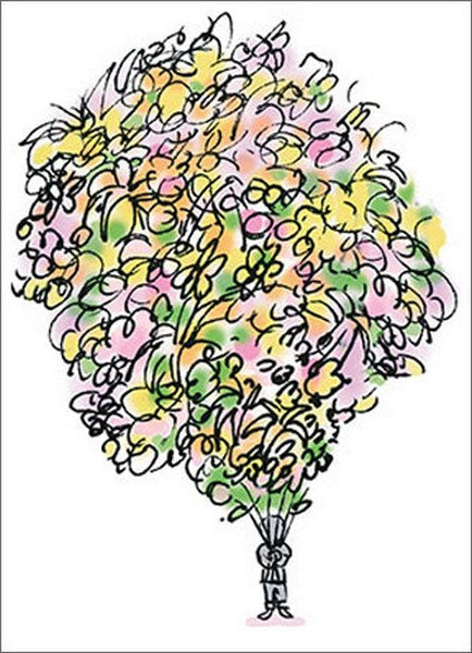 Avanti - Big Bouquet Thank You Card