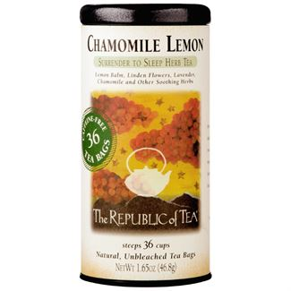 The Republic of Tea - Chamomile Lemon Herbal Tea (36 Tea Bags)