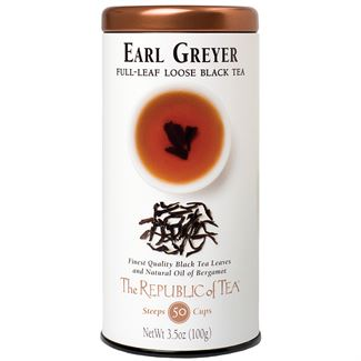 The Republic of Tea - Earl Greyer Full Loose Leaf Black Tea (50 Cups Worth)