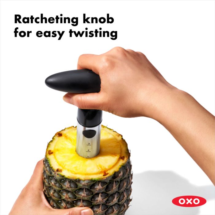 OXO - Stainless Steel Ratcheting Pineapple Slicer
