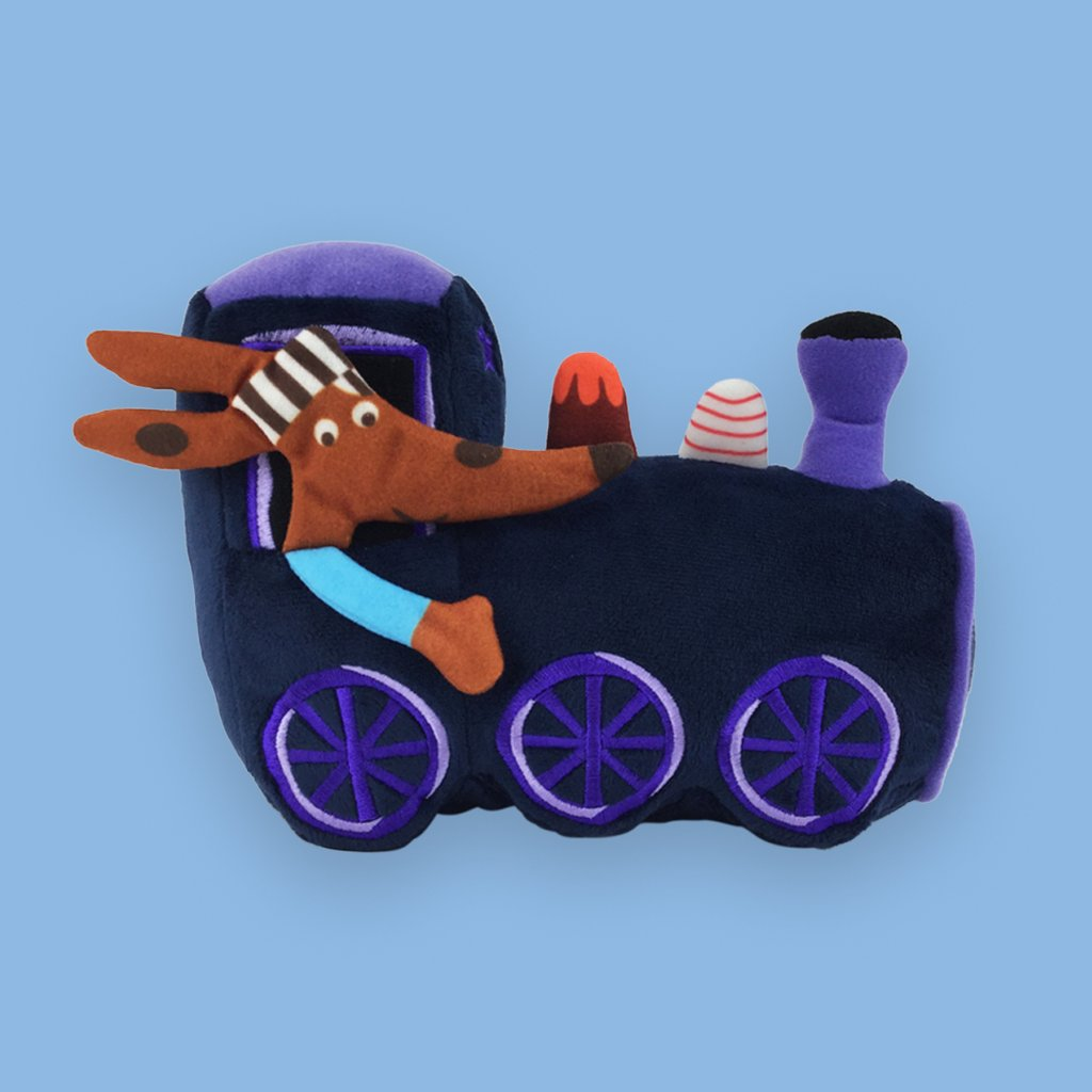 MerryMakers - The Goodnight Train Plush Toy