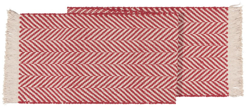 Now Designs - Harris Table Runner, Chili