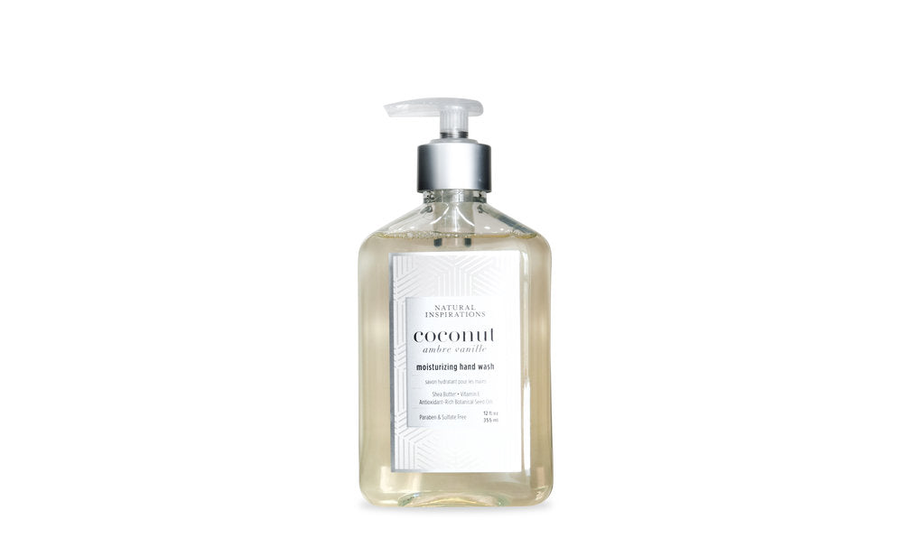 Natural Inspirations - Moisturizing Hand Wash, Coconut Ambre Vanille