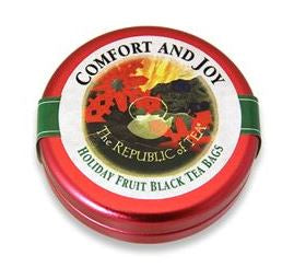 The Republic of Tea - Comfort & Joy Black Tea (Travelers Tin)