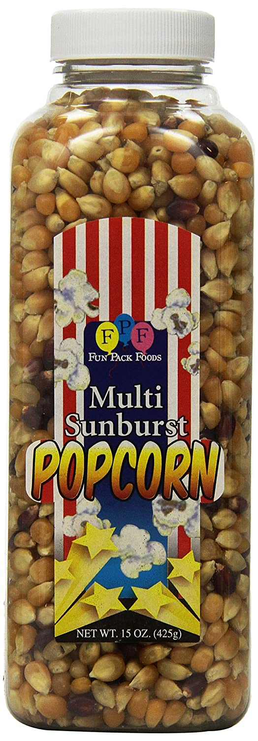 XCell International - Fun Pack Foods Multi-Sunburst Popcorn