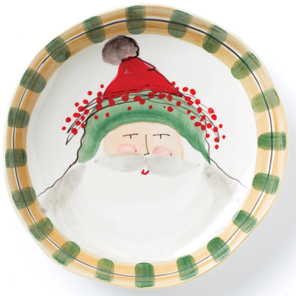 Vietri - Old St. Nick Serving Bowl