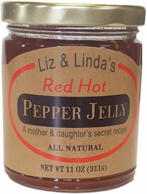 Liz & Linda's - Red Hot Pepper Jelly