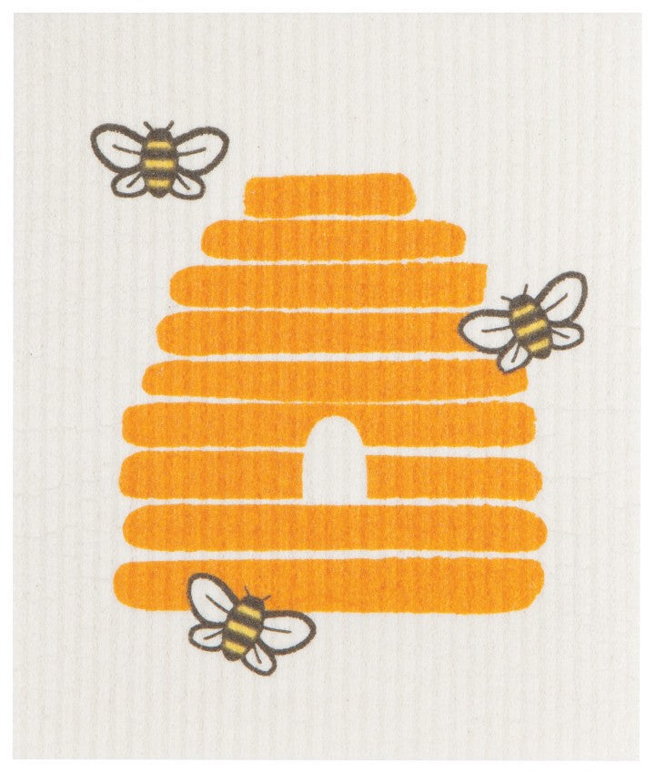 Now Designs - Ecologie Swedish Sponge Dishcloth, Bees