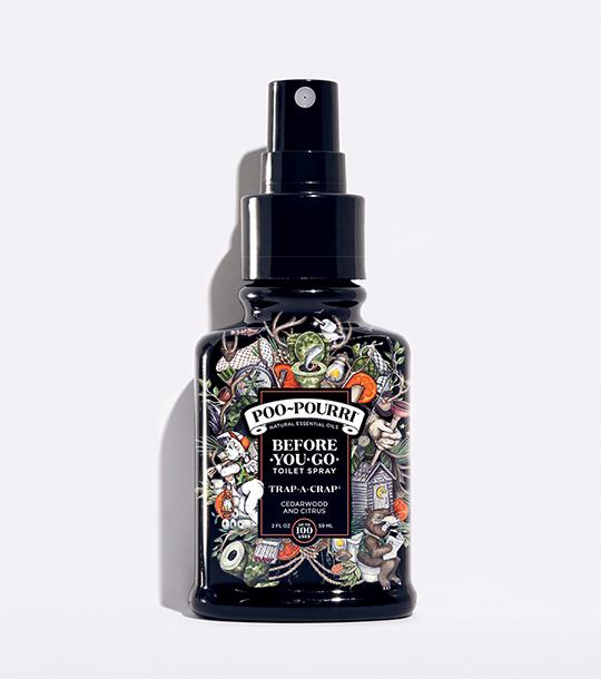 Poo-Pourri - Trap-a-Crap Spray Bottle (2 ounce)