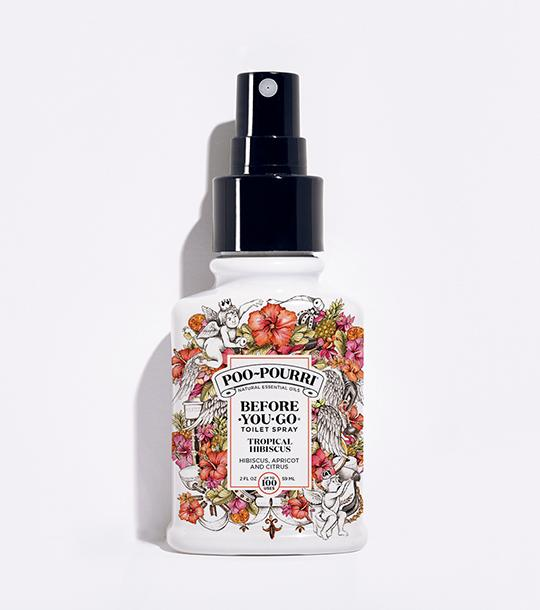 Poo-Pourri - Tropical Hibiscus Spray Bottle (2 ounce)