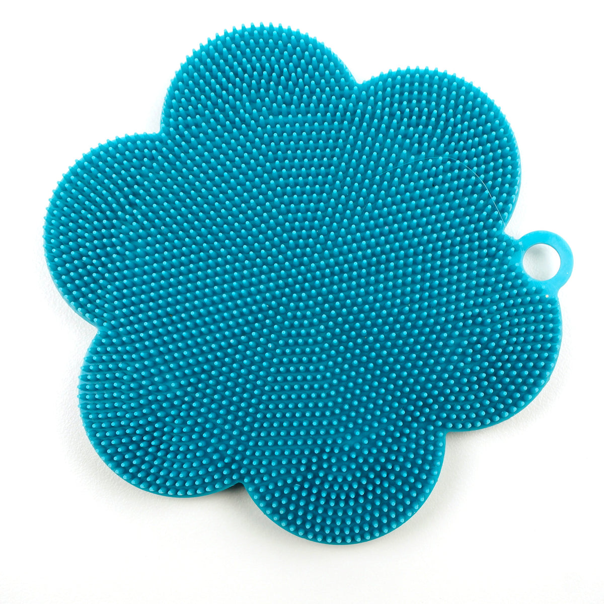 RSVP - Silicone Soft Scrubber, Turquoise
