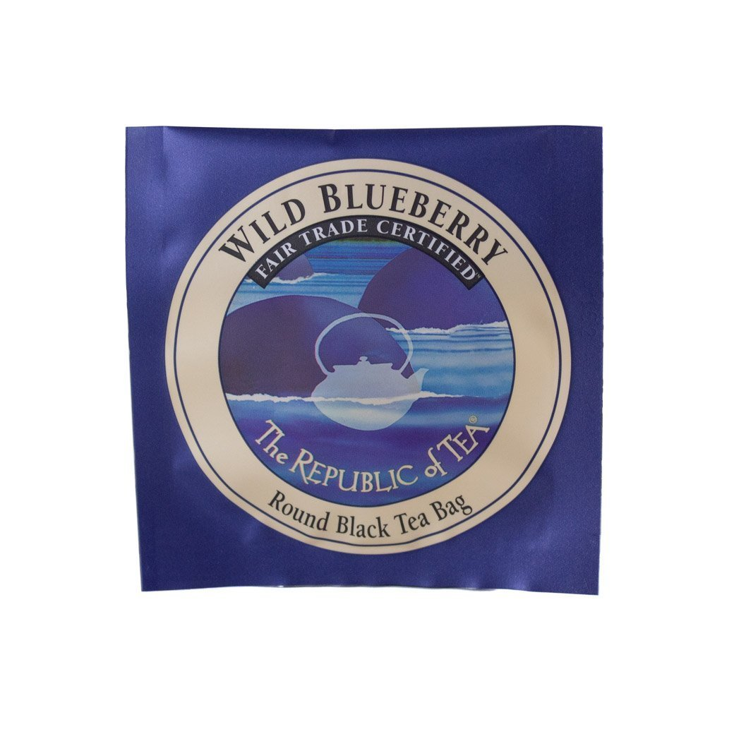 The Republic of Tea - Wild Blueberry Black Tea (Sold Individually)