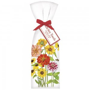 Mary Lake-Thompson - Zinnia Garden Towel Set