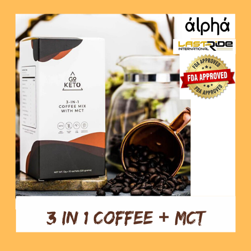 GO KETO 3 IN 1 COFFEE + MCT