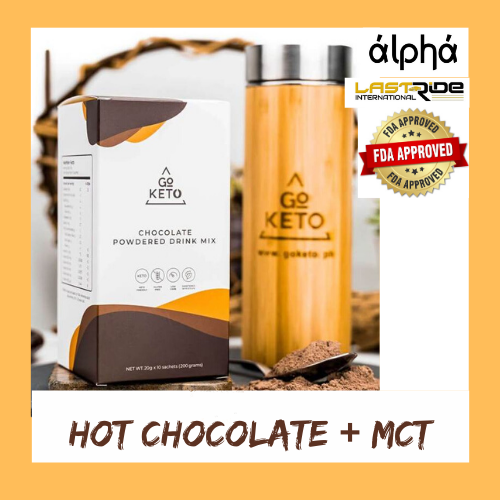 GO KETO HOT CHOCOLATE + MCT