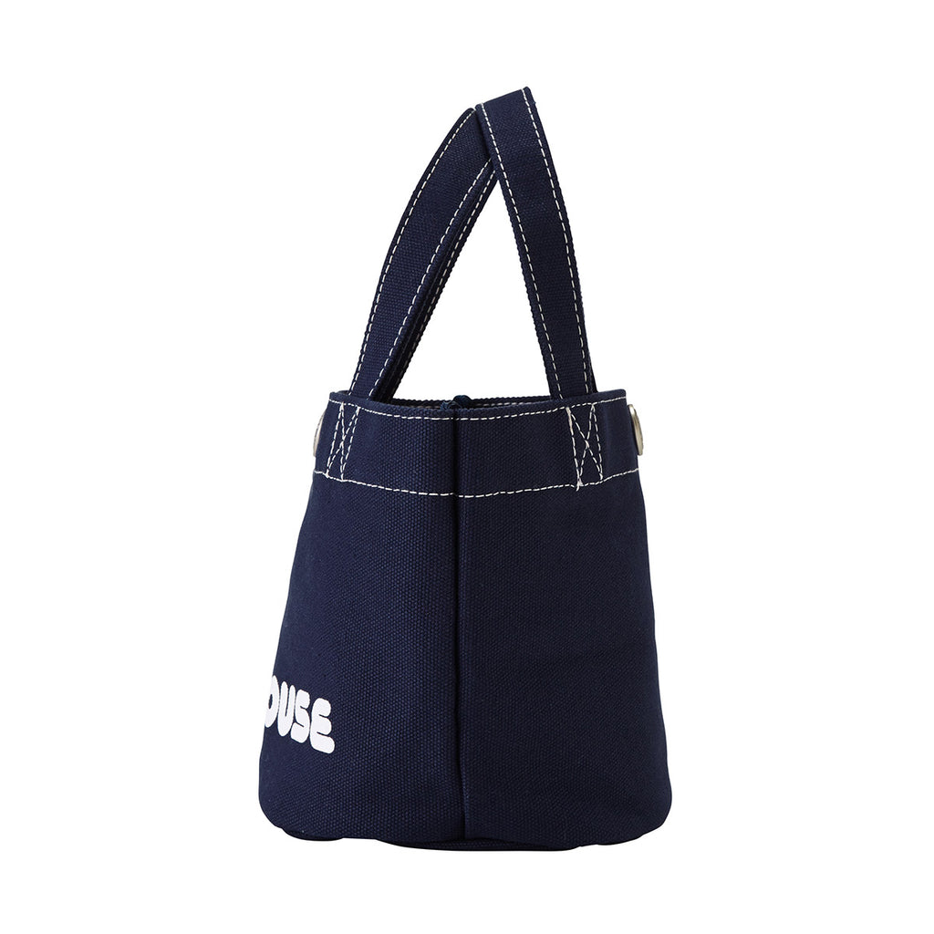 MINI TOTE BAG BLEU MARINE