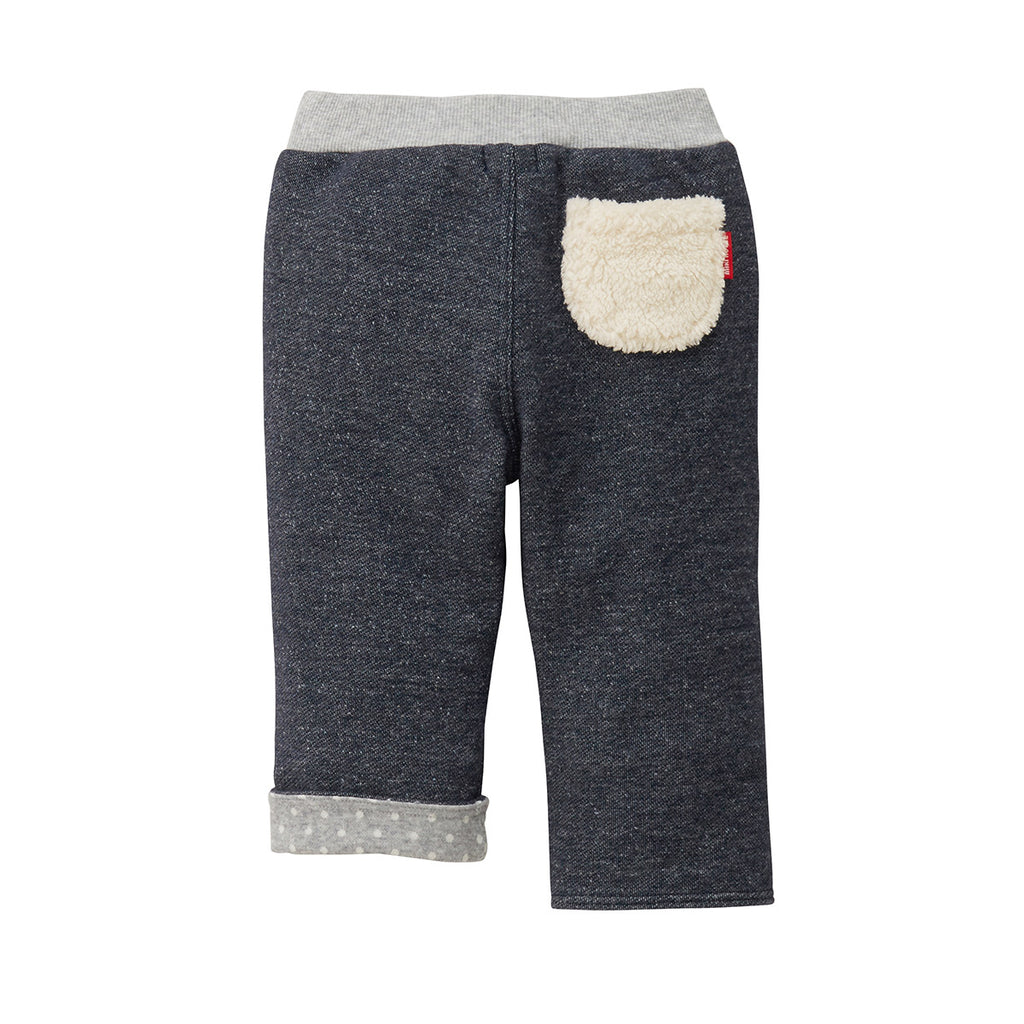 PANTALON EN COTON DENIM