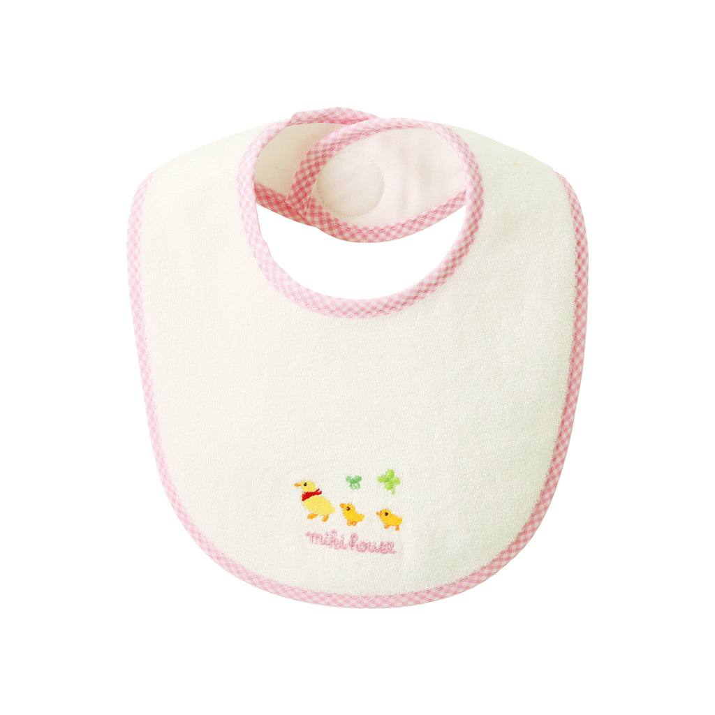 PINK COTTON BIB