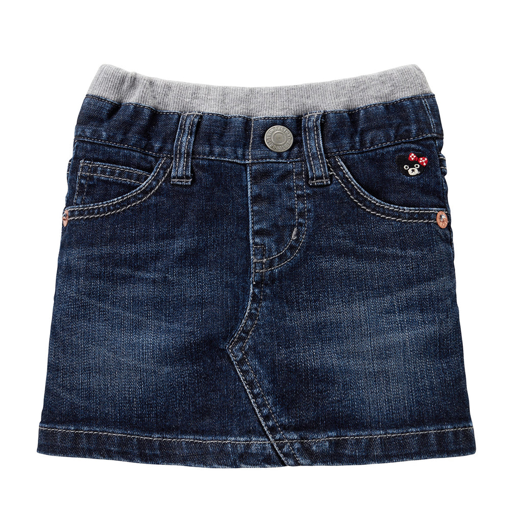 JUPE EN COTON DENIM