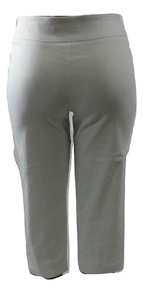 Apt. 9 Stretchy White Capri Pants- Size Petite Small- Donated From The Designer