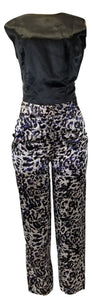 Laura Delman Leopard Pants - Size 4 And 8 - Donated From Designer - The Fashion Foundation