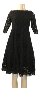 Cistar Black Lace Off The Shoulder Dress- Size S,L- Donated From The Designer