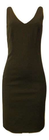 Minan Wong Black V-Neck Dress - Sizes 0 - 10 - Donated From Designer - The Fashion Foundation
