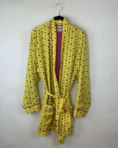 Yellow and Purple Robe - Size Small