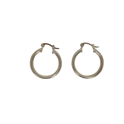 Small Gold Hoop Earrings - The Fashion Foundation - {{ discount designer}}