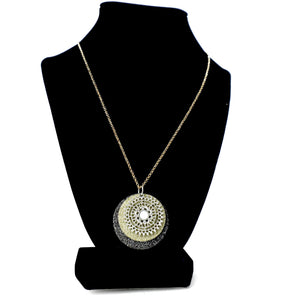 Glitter Discs Necklace