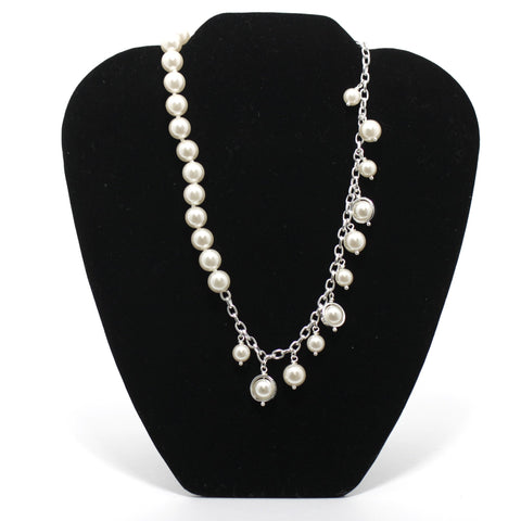 Roman White Pearl Necklace - Donated From The Designer